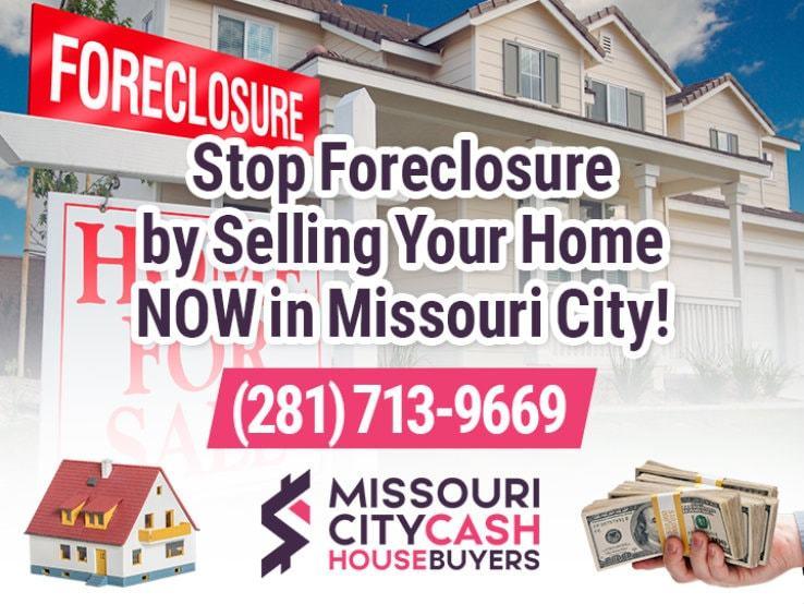 missouri city foreclosure